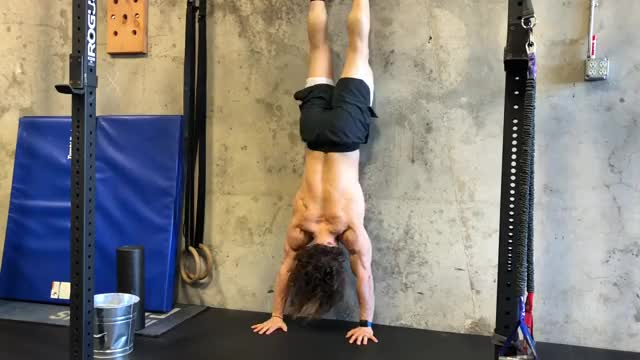 Wall Shoulder Tap demonstration