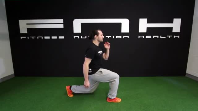 Male Split Jump demonstration
