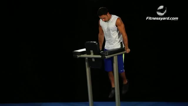 Parallel Bar Dip demonstration