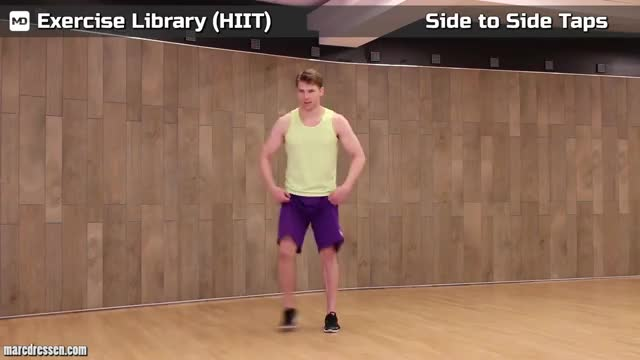 Side-to-Side Shuffle Jump demonstration