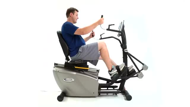 Recumbent Elliptical Cross Trainer demonstration