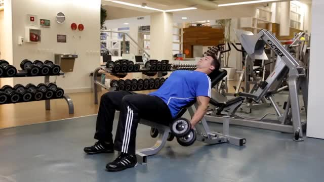 Alternating Incline Dumbbell Biceps Curl demonstration