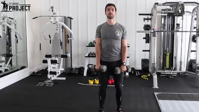 Male Reverse Concentration Curl demonstration