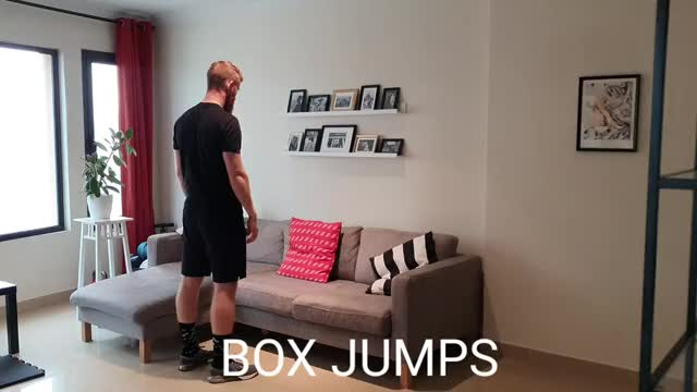 Couch Jumps demonstration