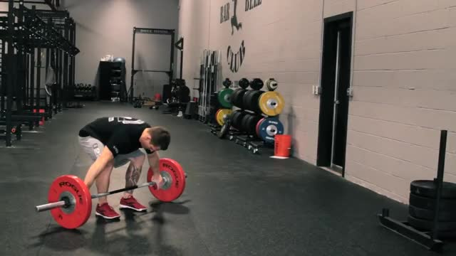 Barbell Snatch demonstration