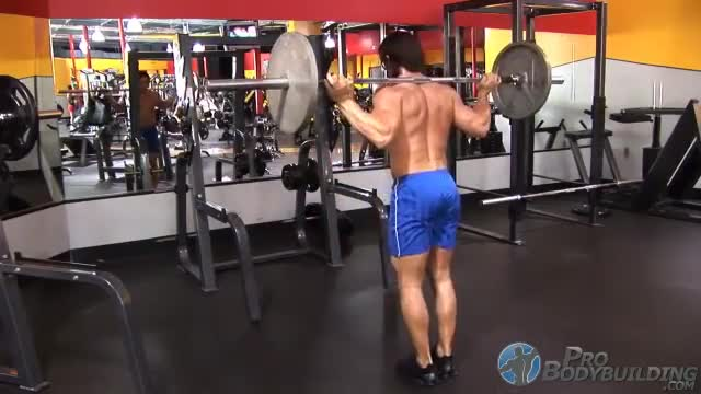 Barbell Lunge demonstration