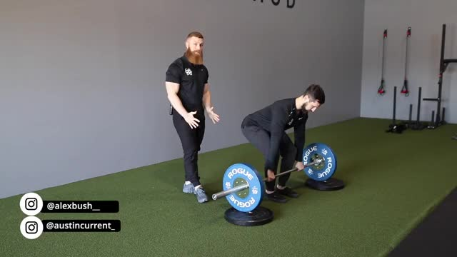 Barbell Deadlift demonstration