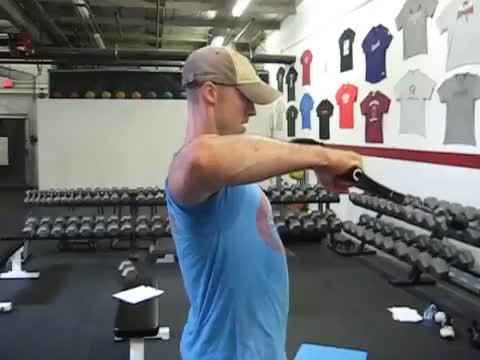 90-Degree Cable External Rotation demonstration