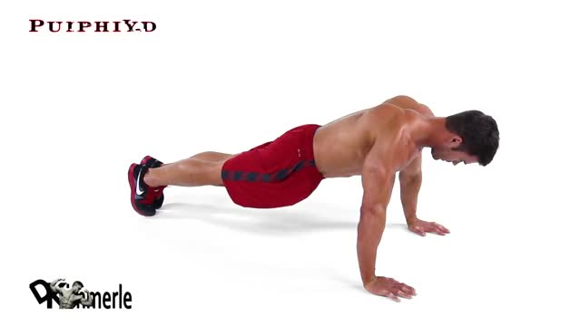 Push-Up Wide demonstration