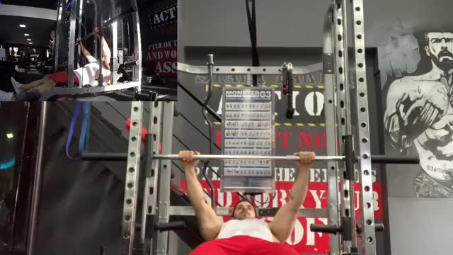 Male High Inverted Row demonstration