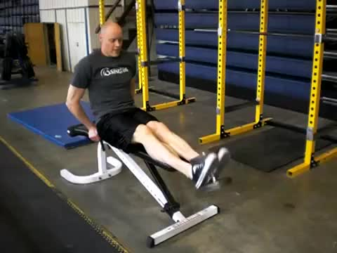 Seated Dumbbell Toe Raise demonstration