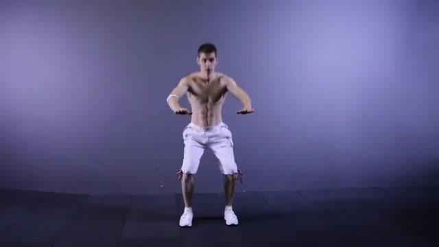90-Degree Jump Squat Twist demonstration