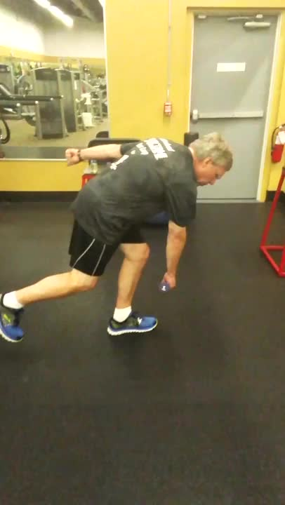 Single-Leg Romanian Deadlift to PNF Pattern 1 demonstration