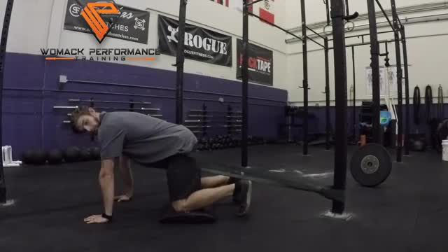 Hip Flexion with Band demonstration