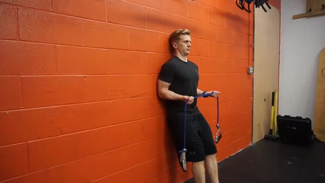Standing External Rotation (No Money Drill) demonstration