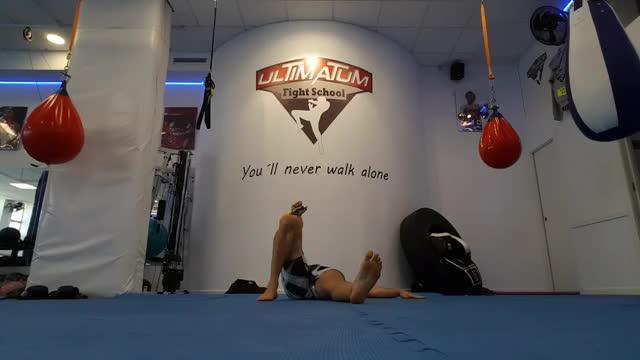 Kettlebell Turkish Get-Up (Lunge style) demonstration
