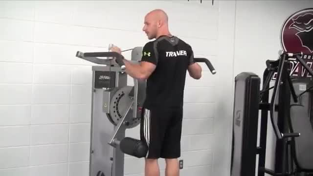 Lever Standing Hip Adduction demonstration