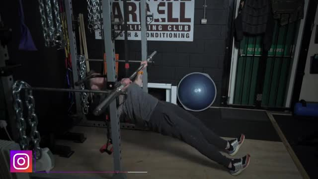 Inverted Row demonstration