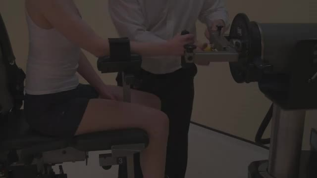 Lever Seated Forearm Pronation demonstration