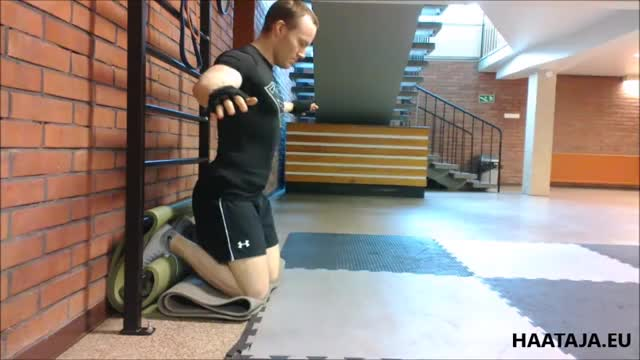 Nordic Hamstring Curl (Bodyweight) demonstration