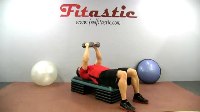 Alternate Dumbbell Flys demonstration