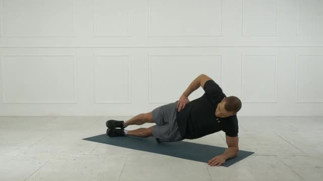 Side Plank Lift demonstration