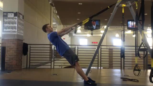 TRX Scarecrow demonstration