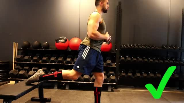 Split Squat demonstration