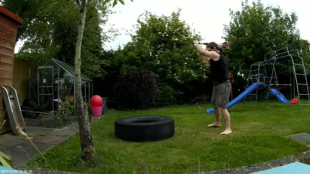 Sledgehammer Swings demonstration