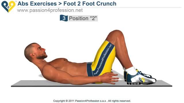 Male Side Reach Crunch Demonstration