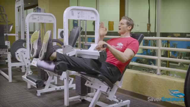 Lever Seated Leg Curl demonstration