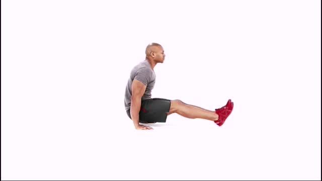 Reverse Plank Hover demonstration