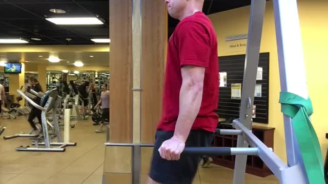 Vertical Leg Raise demonstration