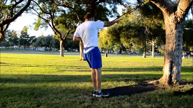 Suspended Power Pull demonstration