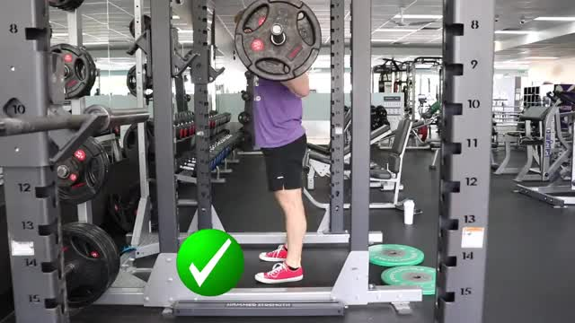 Barbell Full Squat demonstration