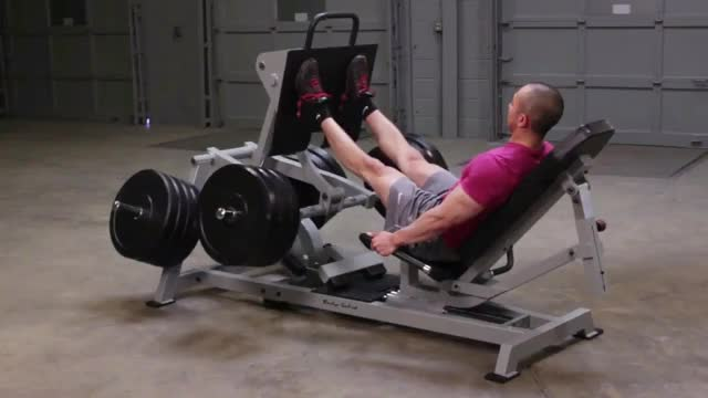Seated Leg Press demonstration