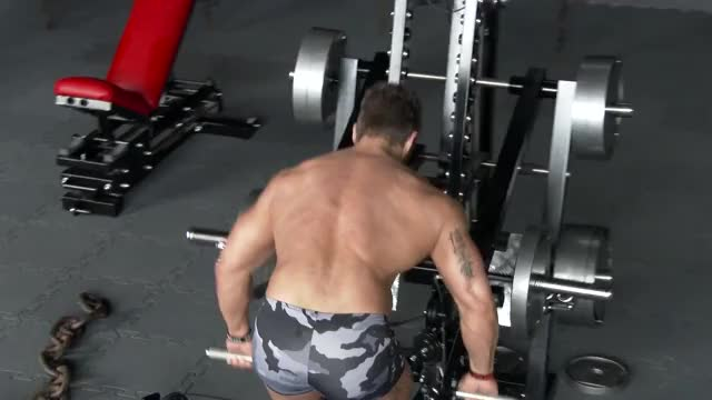Lever Bent-over Row (plate loaded) demonstration