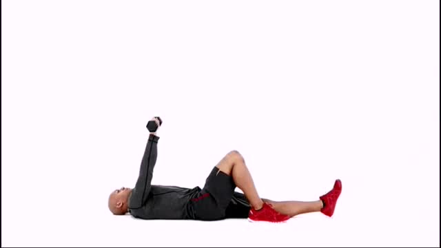 Male Turkish Getup to Side Plank demonstration