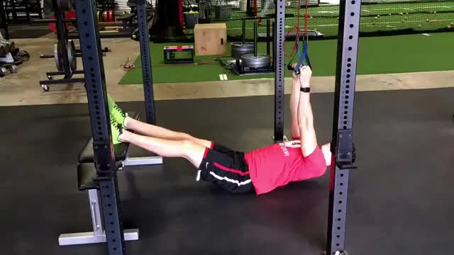 Suspended Inverted Row demonstration