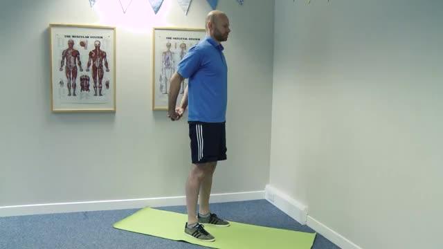 Biceps Stretch demonstration