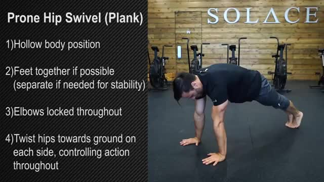 Plank Swivels demonstration