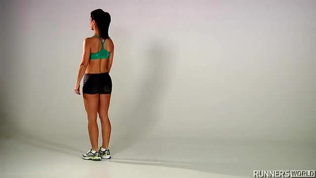 Female Backward Run demonstration