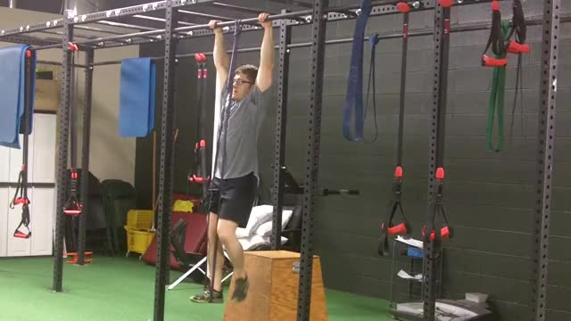 Band-Assisted Pullup demonstration
