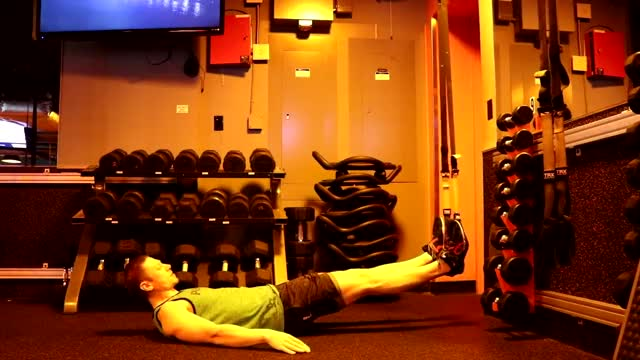 TRX Hip Press demonstration