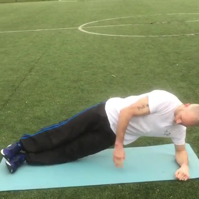 Plyometric Side Plank demonstration