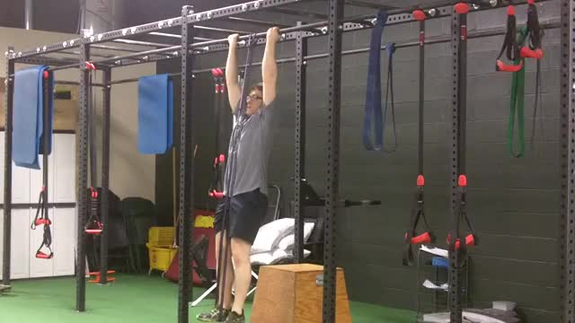 Assisted Chin-Up with Band demonstration
