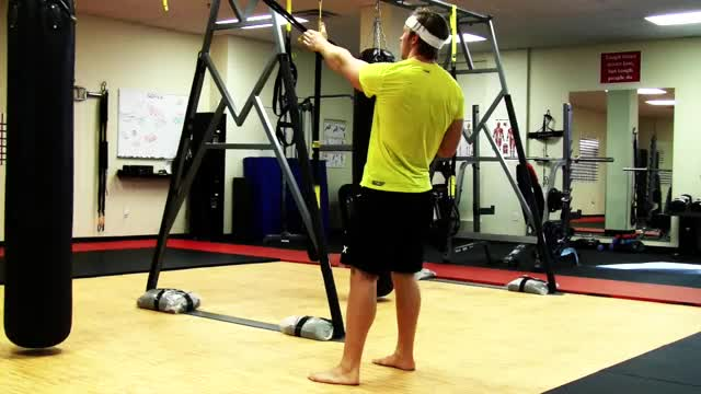 TRX Power Pull demonstration